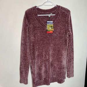 NWT Orvis Chenille Sweater, size M